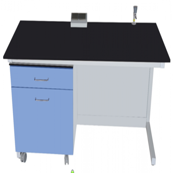 Lab Bench accessory-storage cabinet